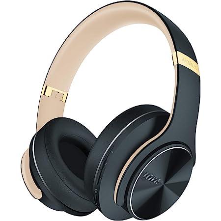 DOQAUS Casque Bluetooth, Casque Pliable 3 Modes EQ, [52 Heures Autonomie] Casque Audio Bluetooth avec Microphone Intégré, Casque Bluetooth sans Fil pour Cours en Ligne/Téléphone/Tablettes/PC