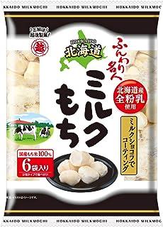 越後製菓 ふんわり名人北海道ミルクもち 60g ×6袋