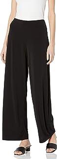 Women's Soft Knit Palazzo Wide Leg Pant (Petite, Standard...
