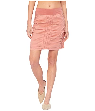 XCVI Wearables Solid Trace Skirt (Atoll Pigment) Women
