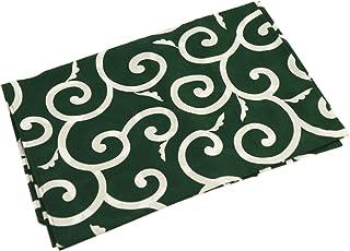 【きもの屋 さらさ】風呂敷(ふろしき) 伝統の柄・唐草風呂敷 (緑・二四巾)