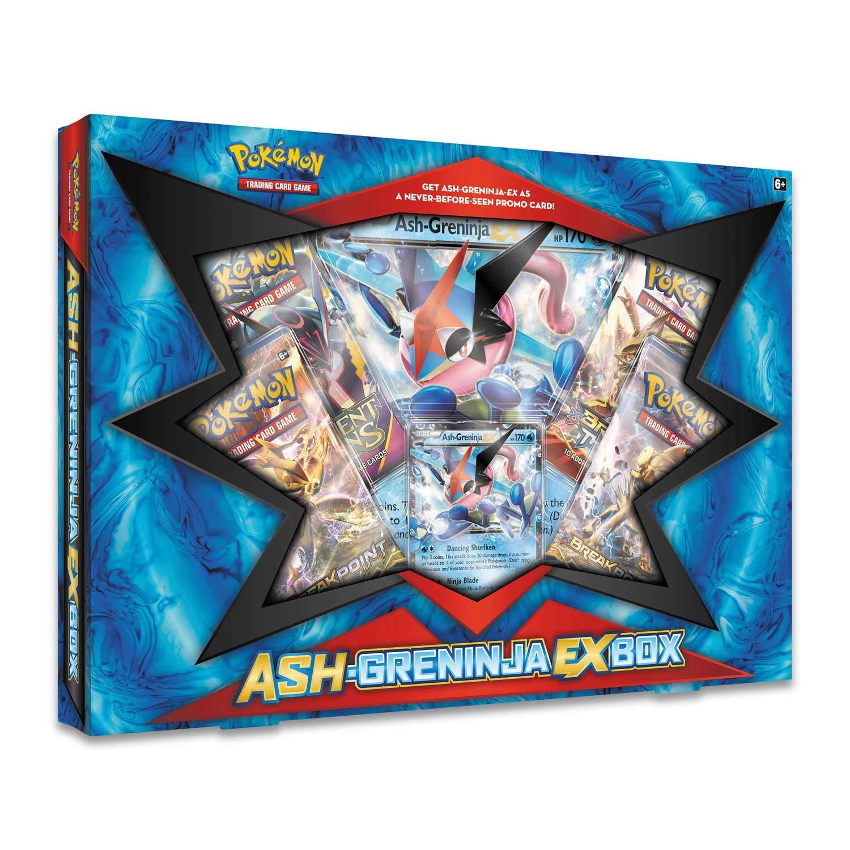 Pokemon 820650801273 TCG Ash Greninja EX Box