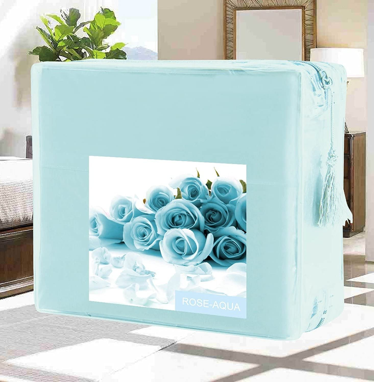 Genuine Luxury Duvet Cover 5 ☆ very popular Set on Amazon Elegant Wrinkle-Free Comfort 15