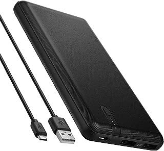 Spigen Essential F711D 10000 mAh 2C 5V 2.4A iP / Taşınabilir Hızlı Şarj / Powerbank - Siyah