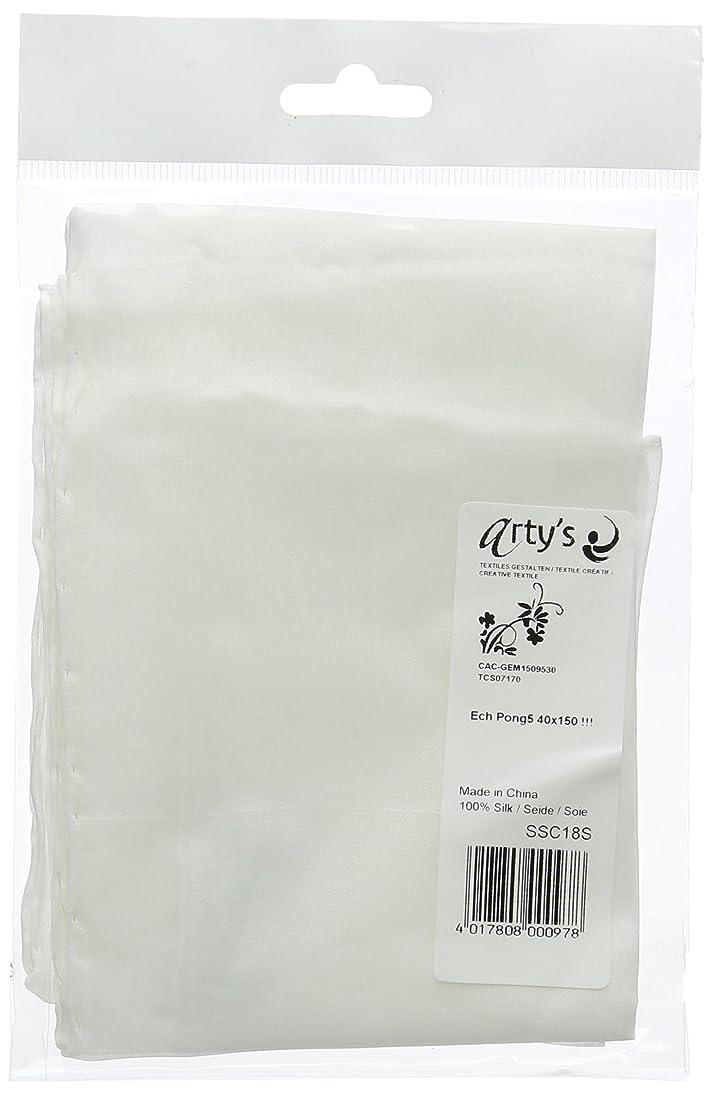 Scarf : Single : Pongee 5 (floaty lightweight silk) : Silk Shawl 40 x 150cm (5 momme weight is 22gsm)
