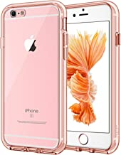 JETech Case for Apple iPhone 6 Plus and iPhone 6s Plus 5.5-Inch, Shock-Absorption Bumper Cover, Anti-Scratch Clear Back (Rose Gold)
