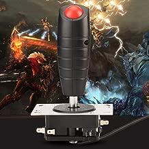 Flight Joystick,8 Way game Controller with Top Fire Button,Arcade game parts trigger joystick,Computer Game Simulation Flight Joystick