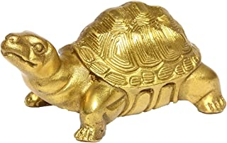 Brass Millennium Turtle Statue Home Indoor Outdoor Decorative Collectible BS051