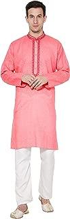 Men's Tunic Cotton Kurta Pajama Set Evening Dress