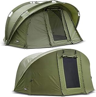 Lucx® Benhylla fisketält + överkast 1 man Bivvy + vinterskin 1 man karpptält Carp Dome Fishing Tent campingtält