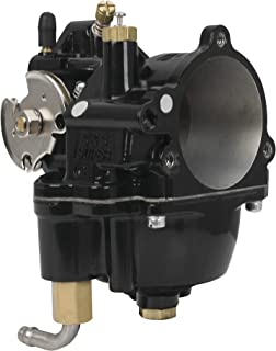 S&S Cycle Black Super G Carburetor Assembly Compatible for Harley-Davidson Big Twin 55-06