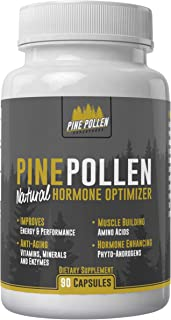Pine Pollen Capsules - Natural Testosterone Support