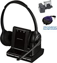 Plantronics Savi W720 Wireless Office Headset With Lifter and Online Indicator (Certified Refurbished)