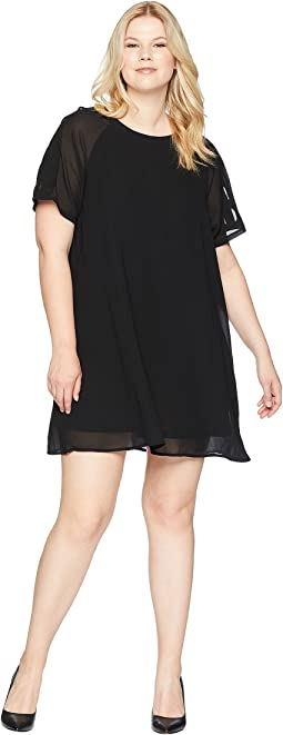 Plus Size Taliyah Dress with Cut Out Detail