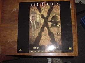 Laserdisc Laser Disc THE X FILES Contains 2 Uncut Episodes. Colony And End Game. Season 2 Episode 16 & 17. Starring David Duchovney & Gillian Anderson.