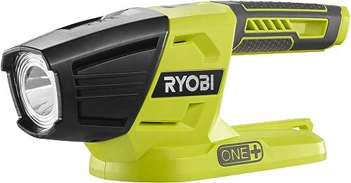 Ryobi 4892210152589 Lampe Torche LED 18V One+, Multicolore