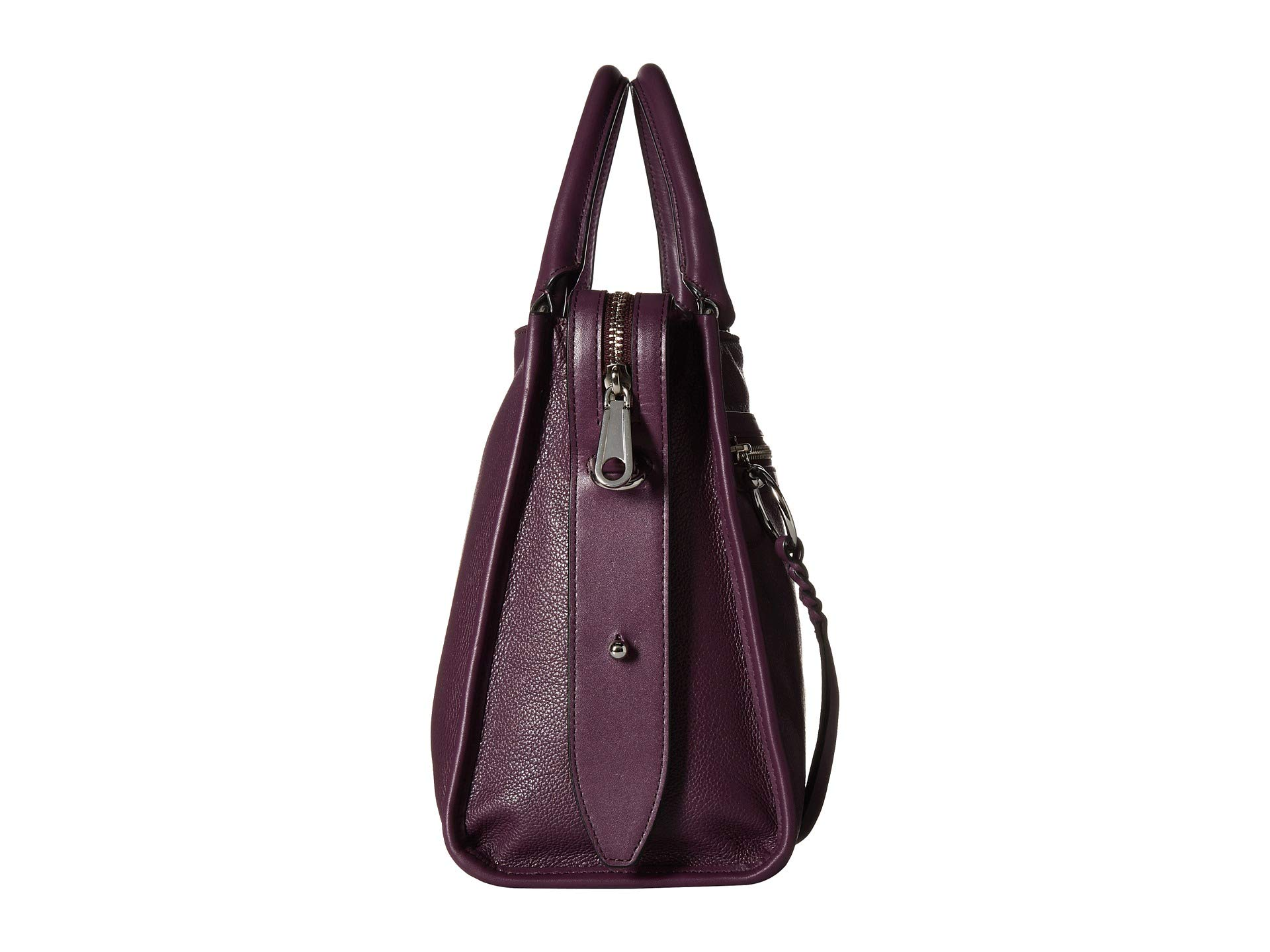 Minkoff Rebecca Blackberry Satchel Bedford Zip 7wwz8vqd