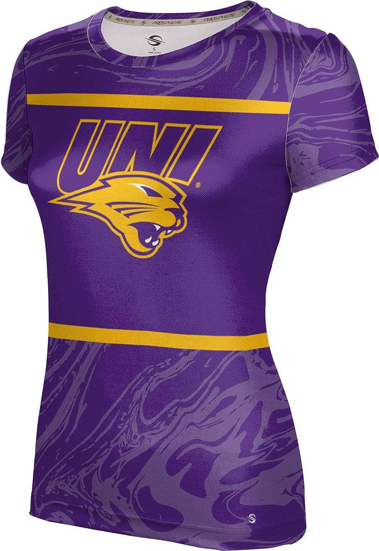 ProSphere University of Northern Iowa Girls' Performance T-Shirt (Ripple)
