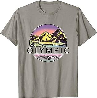 Retro Olympic Shirt National Park Tee Shirt