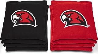 "AJJ Cornhole NCAA Miami (Ohio) Redhawks Bags, 6"" x 6"", Red"