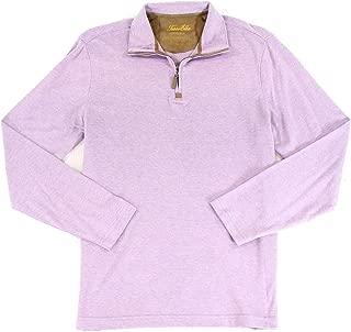 Tasso. Elba. New Heather Purple Mens Size XL 1/2 Zip Lupine Sweater