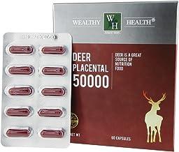 Wealthy Health Deer Placenta 50000 60 tablets