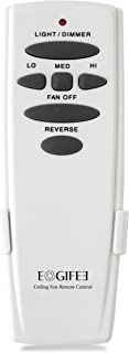Eogifee Ceiling Fan Remote Control of Replacement for Hampton Bay UC7078T with Reverse