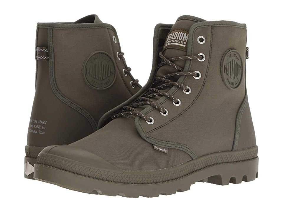 Palladium Pampa Solid Ranger BR (Olive Night/Moon Beam) Lace-up Boots