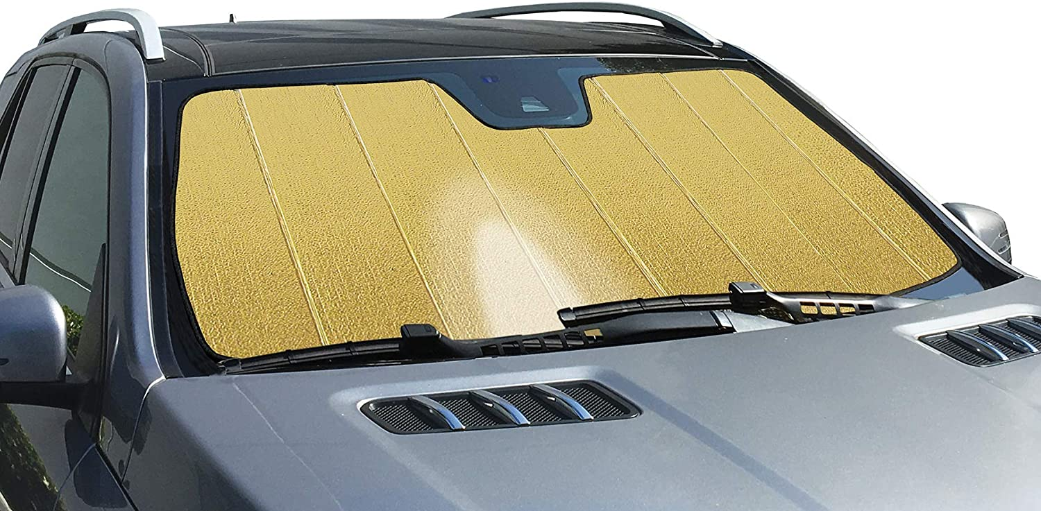 Intro-Tech BK-46-RG Gold Sun Shade Reflector Ultimate Best Detroit Max 85% OFF Mall Cus