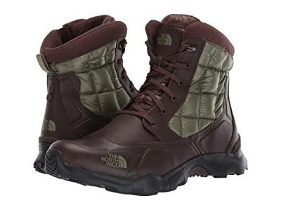 The North Face ThermoBall Boot Zipper (Demitasse Brown/Four Leaf Clover) Men