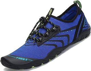 comprar comparacion Saguaro Skin Shoes Descalzo acuático Aqua Calcetines para de Nadada de la Playa de la Resaca de la Yoga