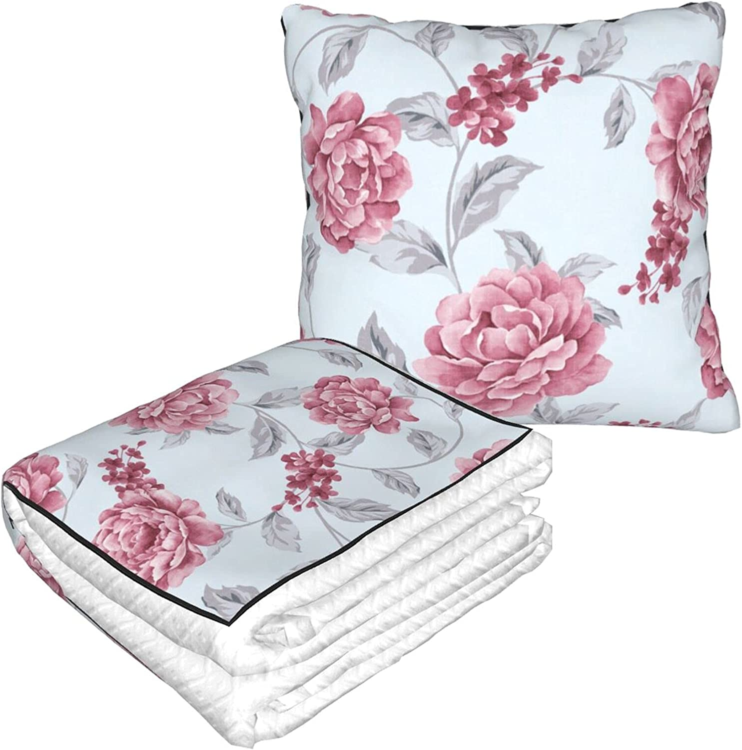 Fresh Spring Flowers Portable Comfort Max 59% OFF Blan Limited time for free shipping Blankets Items Pillow