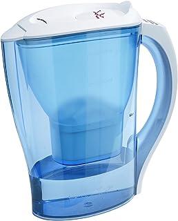 Jata Hogar Jarra PURIFICADORA DE Agua JH01, Acero, Azul, Transparente, Color Blanco