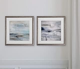 WEXFORD HOME Shifting Tides II -2 Piece Set Art Print, 16x16,