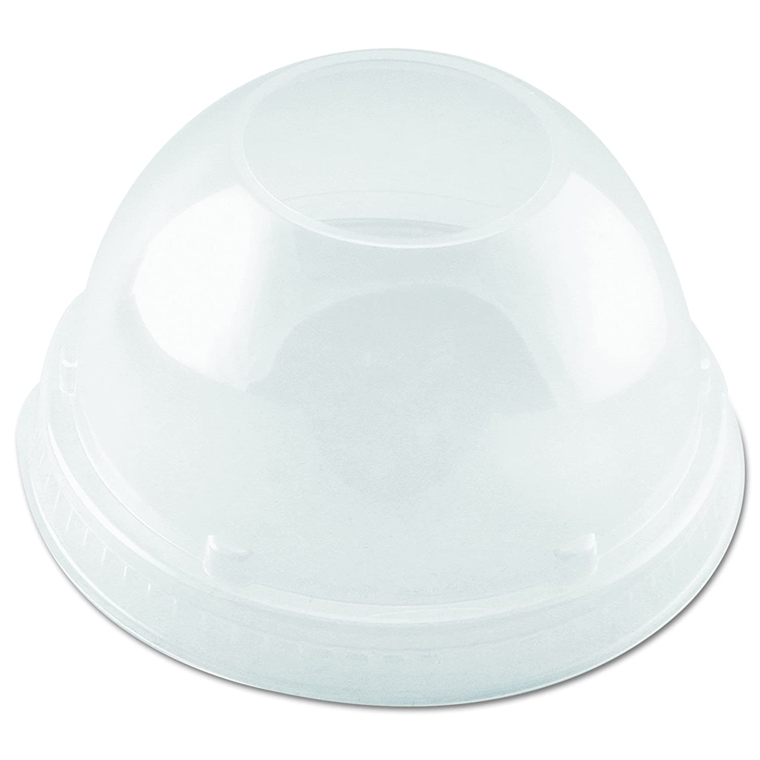 Dart DLR662 Clear Lid depot PET 662 Case of 1000 Cheap SALE Start Dome With Hole
