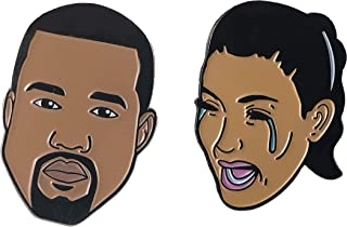 Celebrity Lapel Enamel Pin | Cheap Set For Jackets, Backpacks, Hats, and Jackets | Perfect for display!