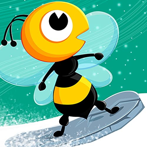 Honey Winter Quest : The Cool Bee Boy Snowboard Racing Game - Premium
