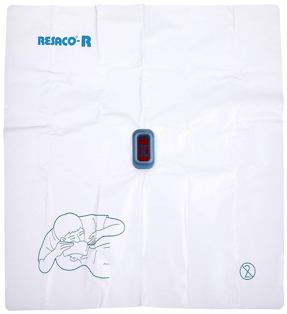 ローマ人モーション分レサコ 人工呼吸用マウスシート レサコRG(ポリ手袋付) 8-8512-02