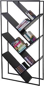 Mendler Bücherregal Cher, Standregal Wohnregal, 160x80cm 4 Ebenen