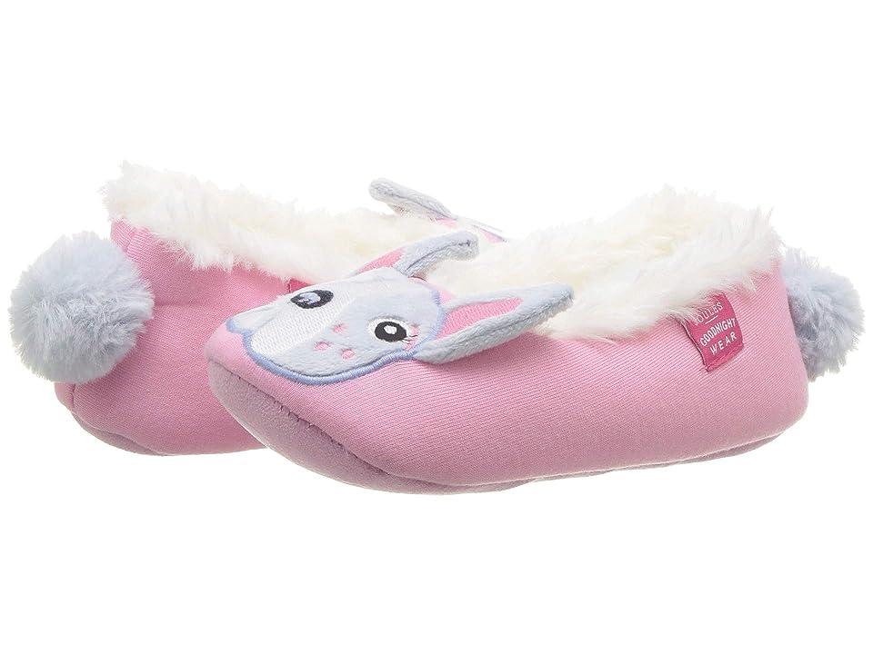 Joules Kids Slip-On Character Slipper (Toddler/Little Kid) (Bulldog) Girls Shoes