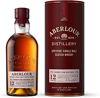 Aberlour 12 Jahre Highland Single Malt Scotch Whisky / Double Cask Matured Scotch Single Malt Whisky / 1 x 0,7 L