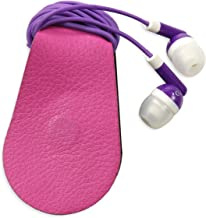 Gwee - Sport Guppy, Magnetic Headphone Cable Storage Clip, Secure Headphone Cords During Workouts, Screen Cleaner & Sunglass Holder, Earbuds not Included, Pink 2-Pack