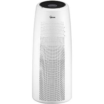 Winix Tower Q Purificador de aire con aplicación wifi habilitada, tamaño máximo de habitación 90m2, filtro de carbón HEPA combi contra alergias, humo, polvo fino, polen: Amazon.es: Bricolaje y herramientas