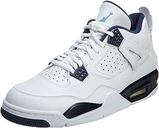 newest 99aa1 a43e1 Nike Air Jordan 4 Retro LS, Chaussures spécial Basket-Ball pour Homme  différents Coloris