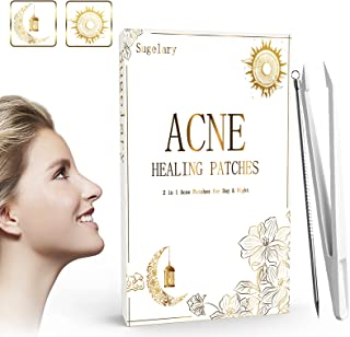 252 Pcs Acne Patches with Acne Needle, Day and Night Use 2 in 1 Hydrocolloid Acne Patches Ultra-thin Invisible Acne Pimple Master Patches Dots for Spot Acne Face Acne Treatment