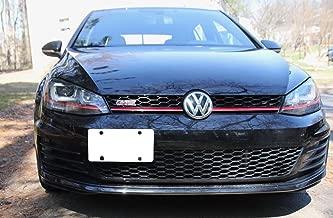 TrunkNets Inc Bumper Tow Hook License Plate Mount Bracket For Volkswagen MK7 Golf GTi 2015 2016 2017 2018 2019