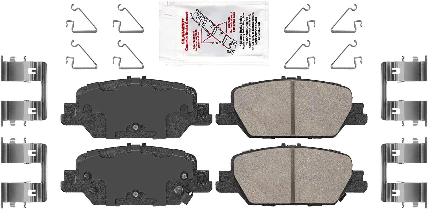 New Disc Brake Portland Mall Pad for safety Set Clarity CR-V
