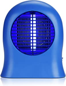 Foromans Mosquito Killer lamp Bule Bug Zapper Electronic Insect Killer Fly Trap with UVA Night Light for Indoor Outdoor