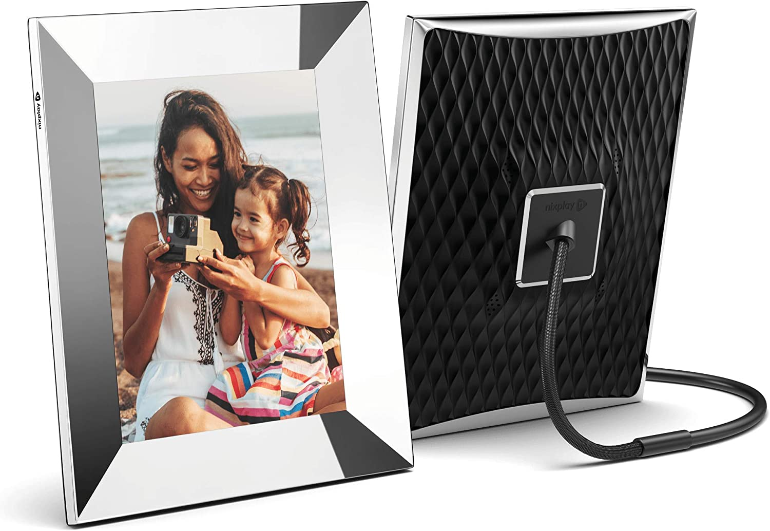 Nixplay Smart Digital Picture Frame 15.6 Inch, Share Moments Instantly via App or E-Mail : Electronics