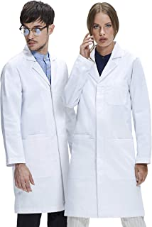 landau smart stretch lab coat